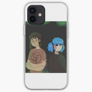 larry and sally face iPhone Soft Case RB0106 product Offical Sally Face Merch