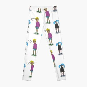 Sally Face Sal and Travis Leggings RB0106 product Offical Sally Face Merch