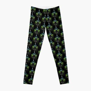 Sally Face Green Glow Leggings RB0106 product Offical Sally Face Merch