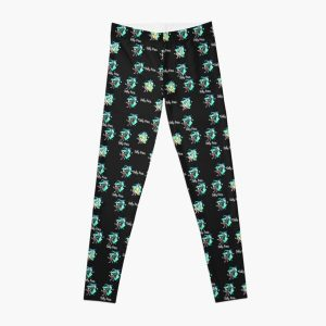 Sally Face Pattern - With Logo Leggings RB0106 product Offical Sally Face Merch