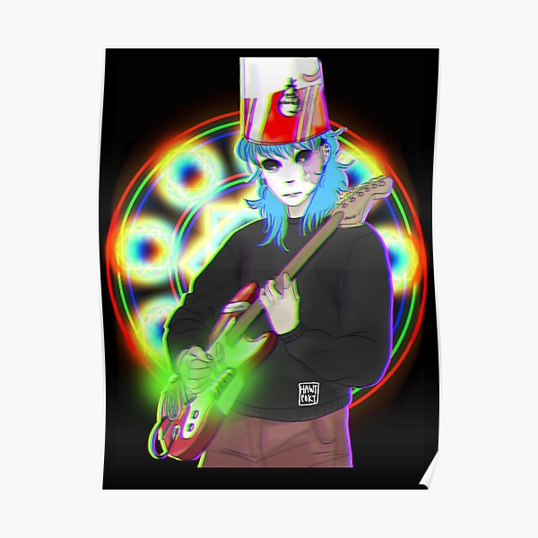 BucketHead Sally Face  Poster RB0106 product Offical Sally Face Merch