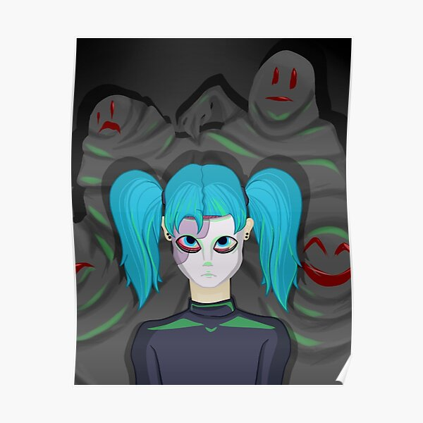 Sally Face  Poster RB0106 product Offical Sally Face Merch