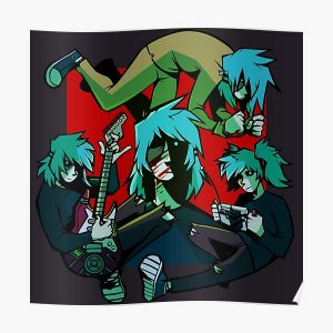 SALLY FACE GENERATIONS Poster RB0106 product Offical Sally Face Merch