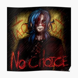 No Choice - Sally Face Poster RB0106 product Offical Sally Face Merch