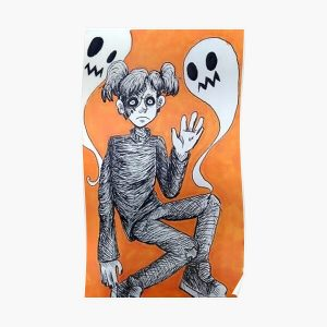 Sally face with ghosts Poster RB0106 product Offical Sally Face Merch