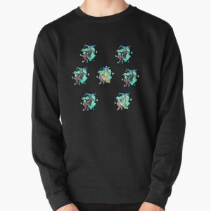 Sally Face - All his masks Pullover Sweatshirt RB0106 product Offical Sally Face Merch