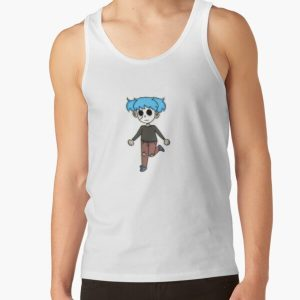 Sally Face Sticker Tank Top RB0106 product Offical Sally Face Merch