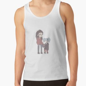 Sally Face Chibi Tank Top RB0106 product Offical Sally Face Merch