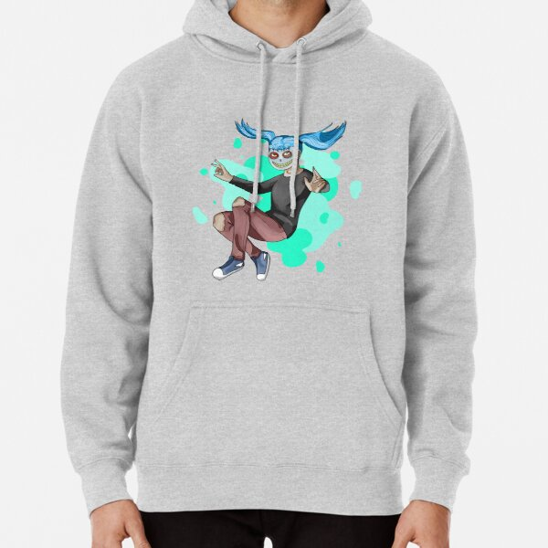 Sally Face - Skeleton Mask Pullover Hoodie RB0106 product Offical Sally Face Merch