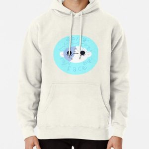 Sally Face Round Sticker Pullover Hoodie RB0106 product Offical Sally Face Merch
