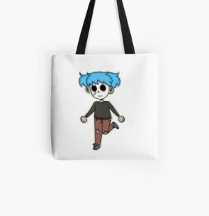 Sally Face Sticker All Over Print Tote Bag RB0106 product Offical Sally Face Merch