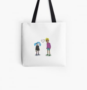 Sally Face Sal and Travis All Over Print Tote Bag RB0106 product Offical Sally Face Merch