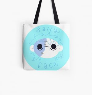 Sally Face Round Sticker All Over Print Tote Bag RB0106 product Offical Sally Face Merch