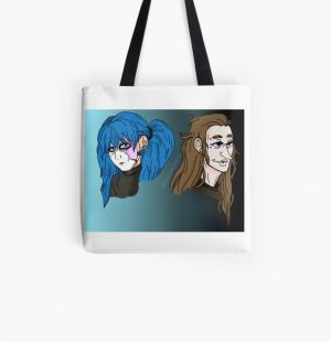 Sal and Larry - Sally Face All Over Print Tote Bag RB0106 product Offical Sally Face Merch