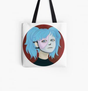 Sally Face All Over Print Tote Bag RB0106 product Offical Sally Face Merch