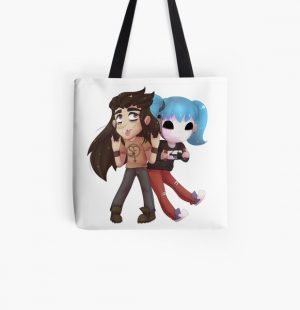 Sally Face! - Larry Face! All Over Print Tote Bag RB0106 product Offical Sally Face Merch