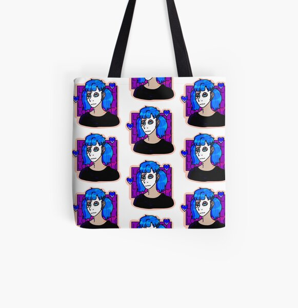Sally Face Valentines (Hard Outline) All Over Print Tote Bag RB0106 product Offical Sally Face Merch