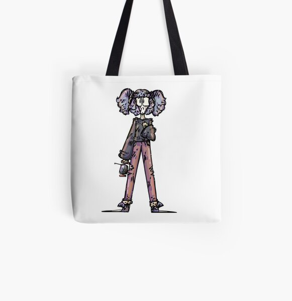 Sally Face Fanart All Over Print Tote Bag RB0106 product Offical Sally Face Merch