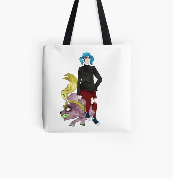 Sally Face Unicron All Over Print Tote Bag RB0106 product Offical Sally Face Merch
