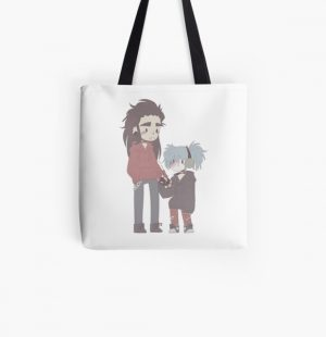 Sally Face Chibi All Over Print Tote Bag RB0106 product Offical Sally Face Merch