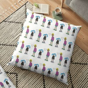 Sally Face Sal and Travis Floor Pillow RB0106 product Offical Sally Face Merch