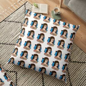 Larry Johnson Valentines - Sally Face (Hard Outline) Floor Pillow RB0106 product Offical Sally Face Merch