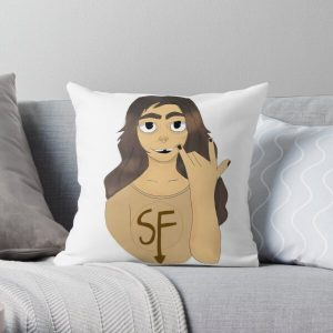 Larry from sallyface Throw Pillow RB0106 product Offical Sally Face Merch