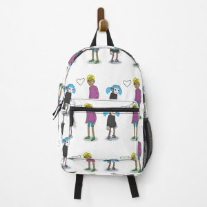 Sally Face Sal and Travis Backpack RB0106 product Offical Sally Face Merch