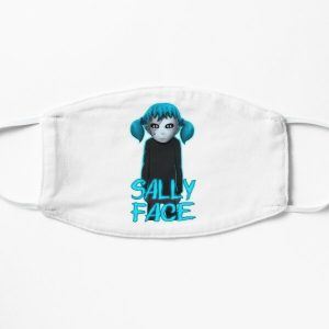 Sally Face Game Flat Mask RB0106 product Offical Sally Face Merch