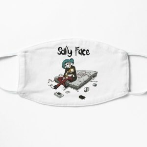 Sally Face Flat Mask RB0106 product Offical Sally Face Merch