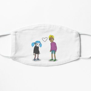 Sally Face Sal and Travis Flat Mask RB0106 product Offical Sally Face Merch