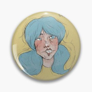 Sally Fisher from Sally Face Pin RB0106 product Offical Sally Face Merch