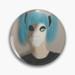 Sally Face. Pin RB0106 product Offical Sally Face Merch