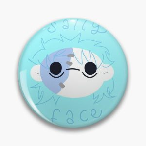 Sally Face Round Sticker Pin RB0106 product Offical Sally Face Merch